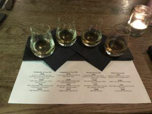 whisky tasting pub