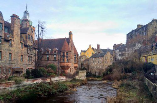 edinburgh view river